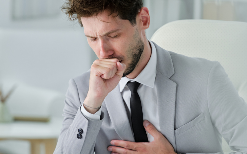 Blog - A Coughing Fit When to Send an Employee Home