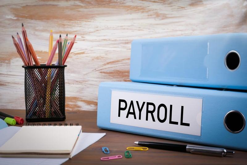 payroll binders