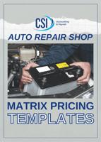 Form - Auto Repair Shop Matrix Pricing Templates (1)